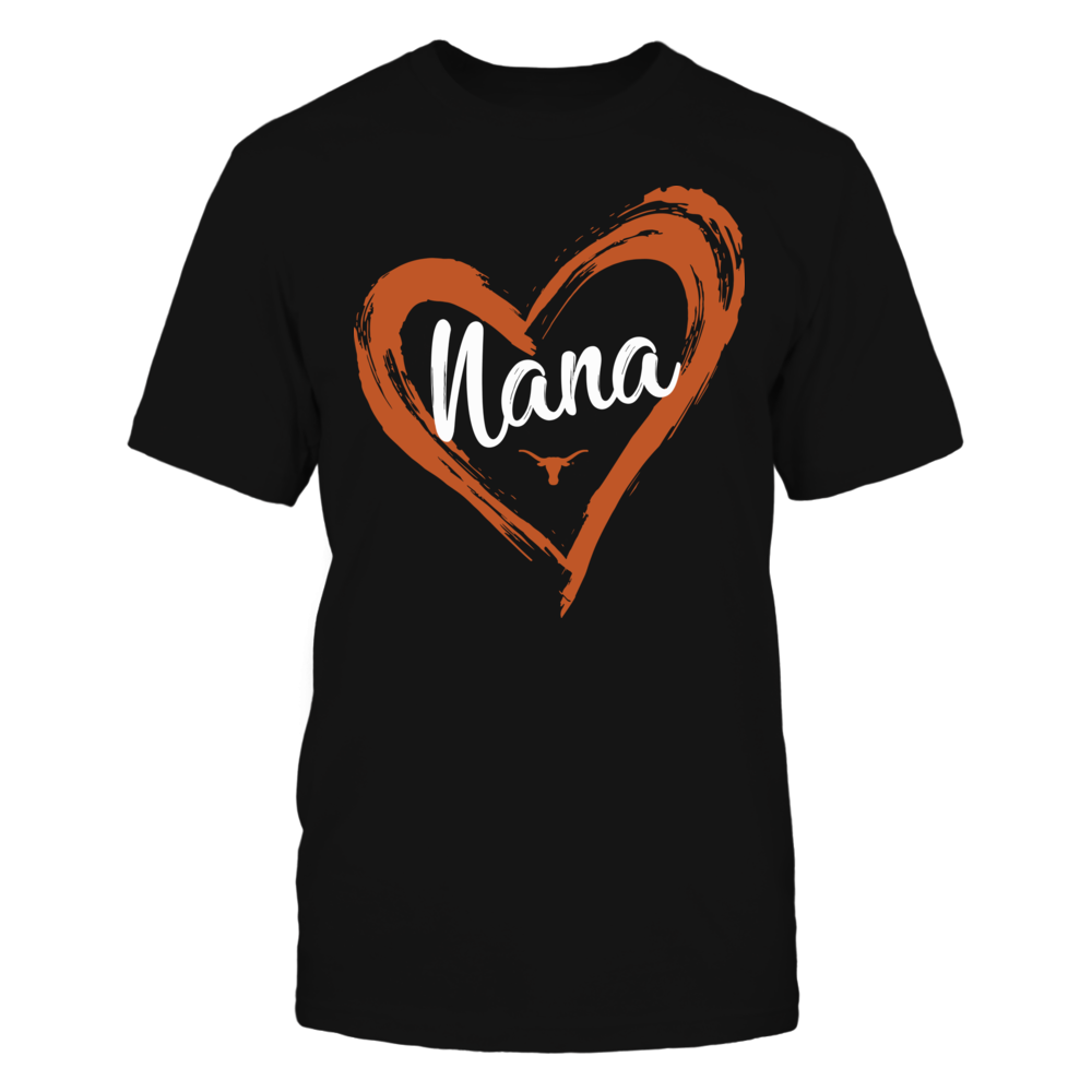 Texas Longhorns - Drawing Heart - Nana Front picture