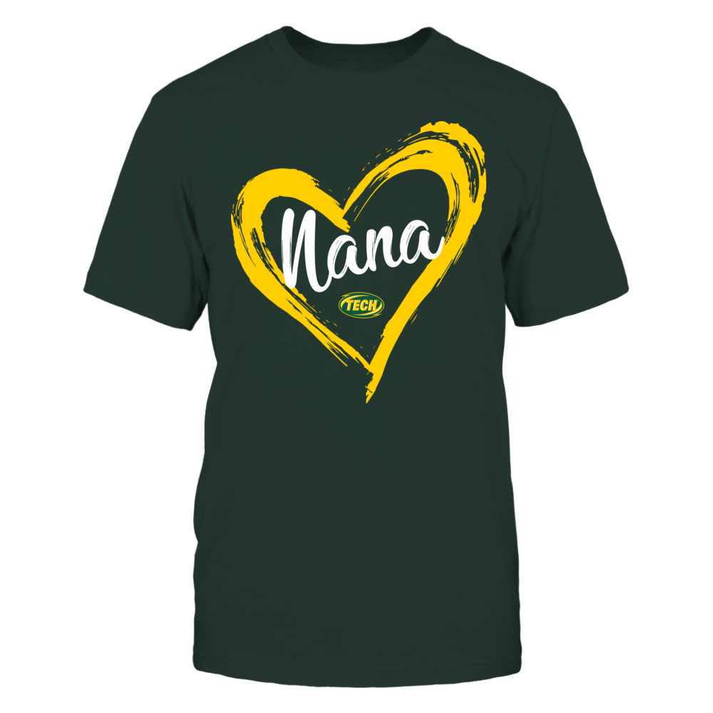 Arkansas Tech Golden Suns - Drawing Heart - Nana Front picture