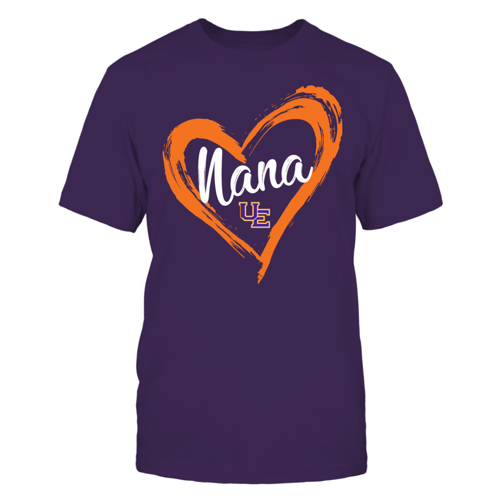 Evansville Purple Aces - Drawing Heart - Nana Front picture