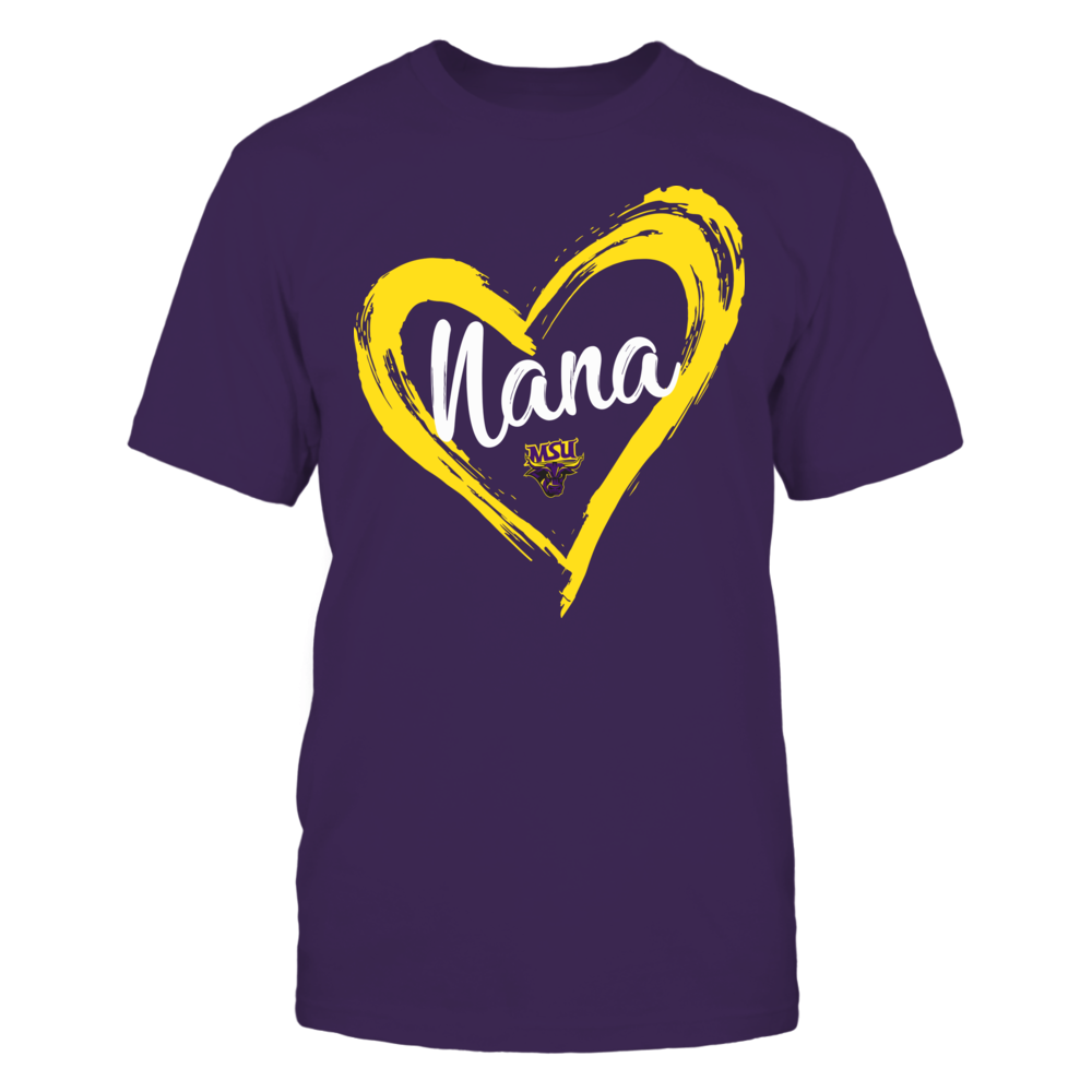 Minnesota State Mavericks - Drawing Heart - Nana Front picture