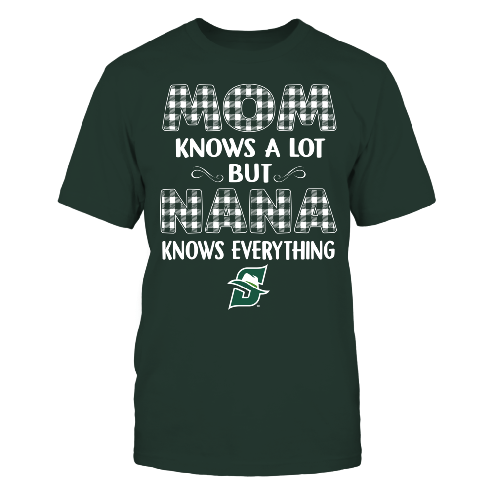 Stetson Hatters - Mom Knows A Lot - Nana Knows Everything - Team Front picture