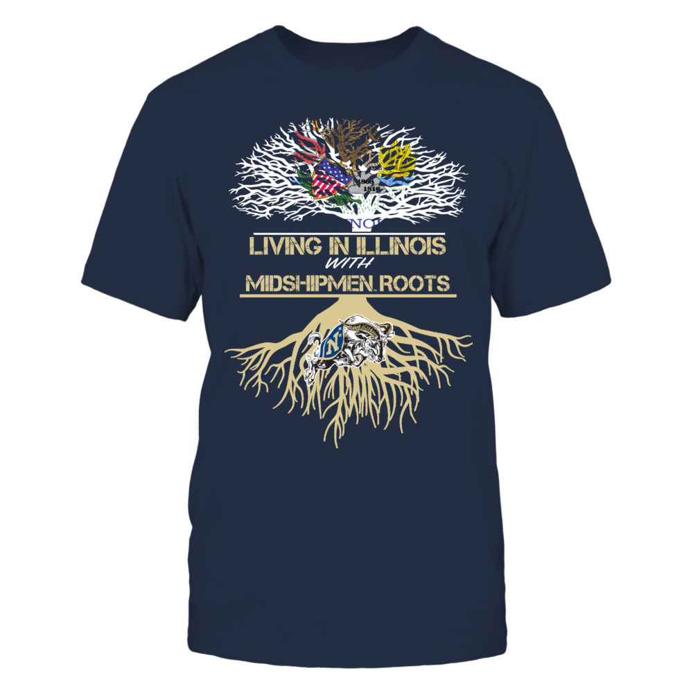 Navy Midshipmen - Living Roots Illinois Front picture