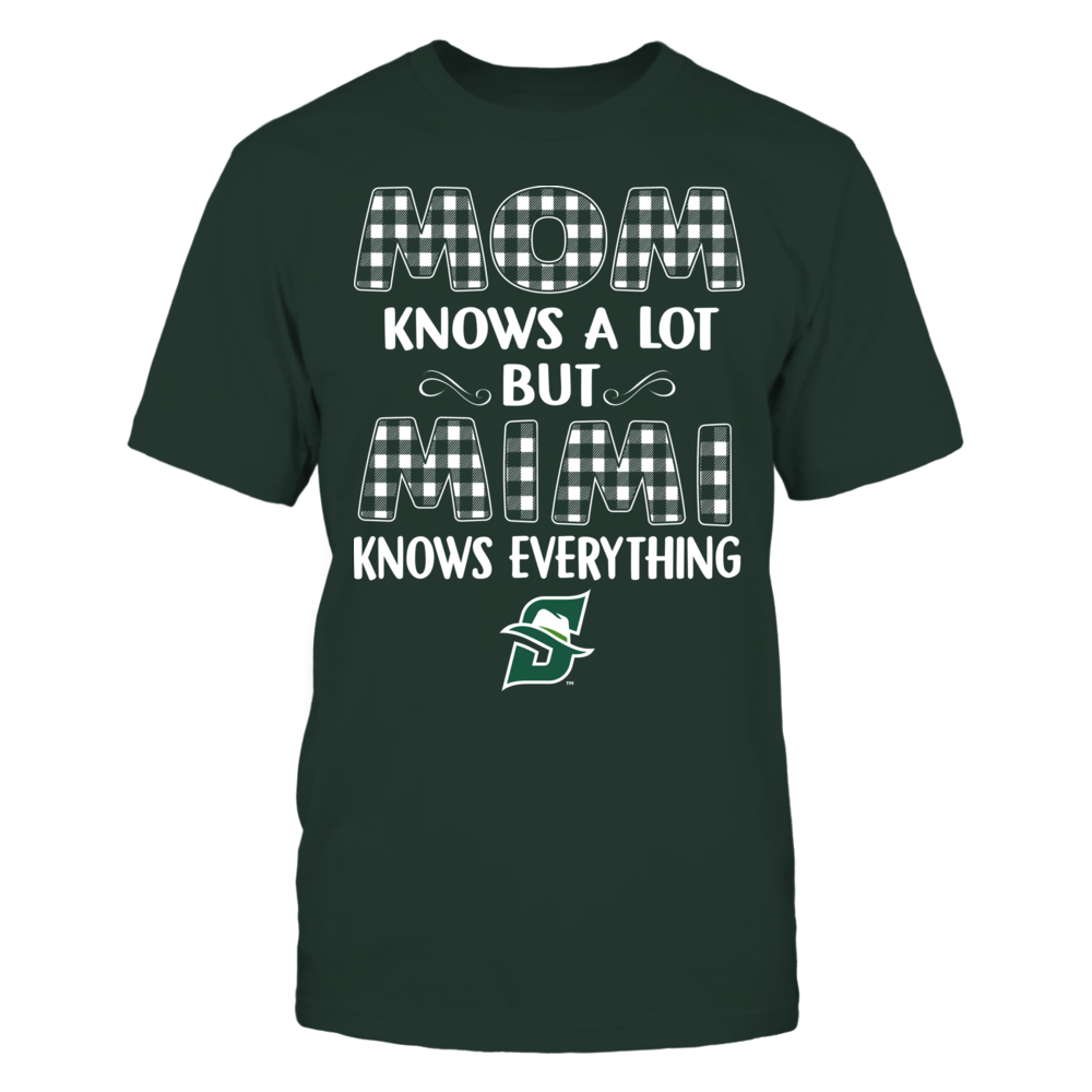 Stetson Hatters - Mom Knows A Lot - Mimi Knows Everything - Team Front picture