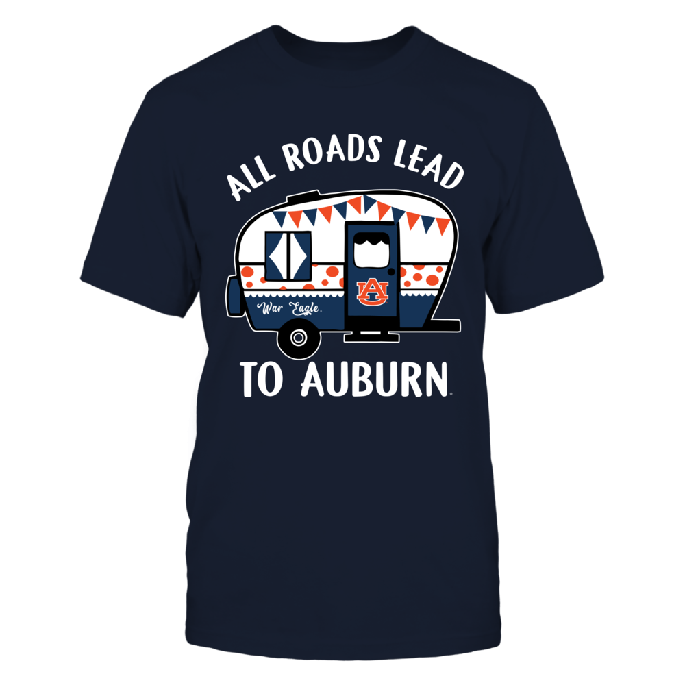 Auburn Tigers - Camping - All Roads Lead To Front picture