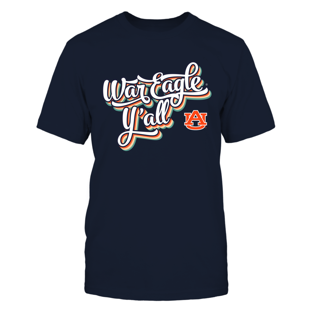 Auburn Tigers - Vintage Typo - Slogan - IF13-IC13-DS64 Front picture