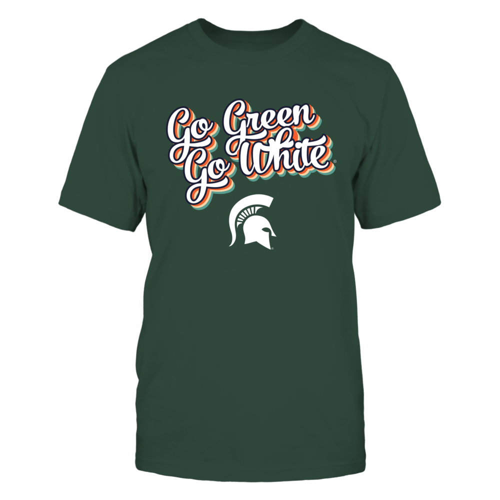 Michigan State Spartans - Vintage Typo - Slogan - IF13-IC13-DS64 Front picture