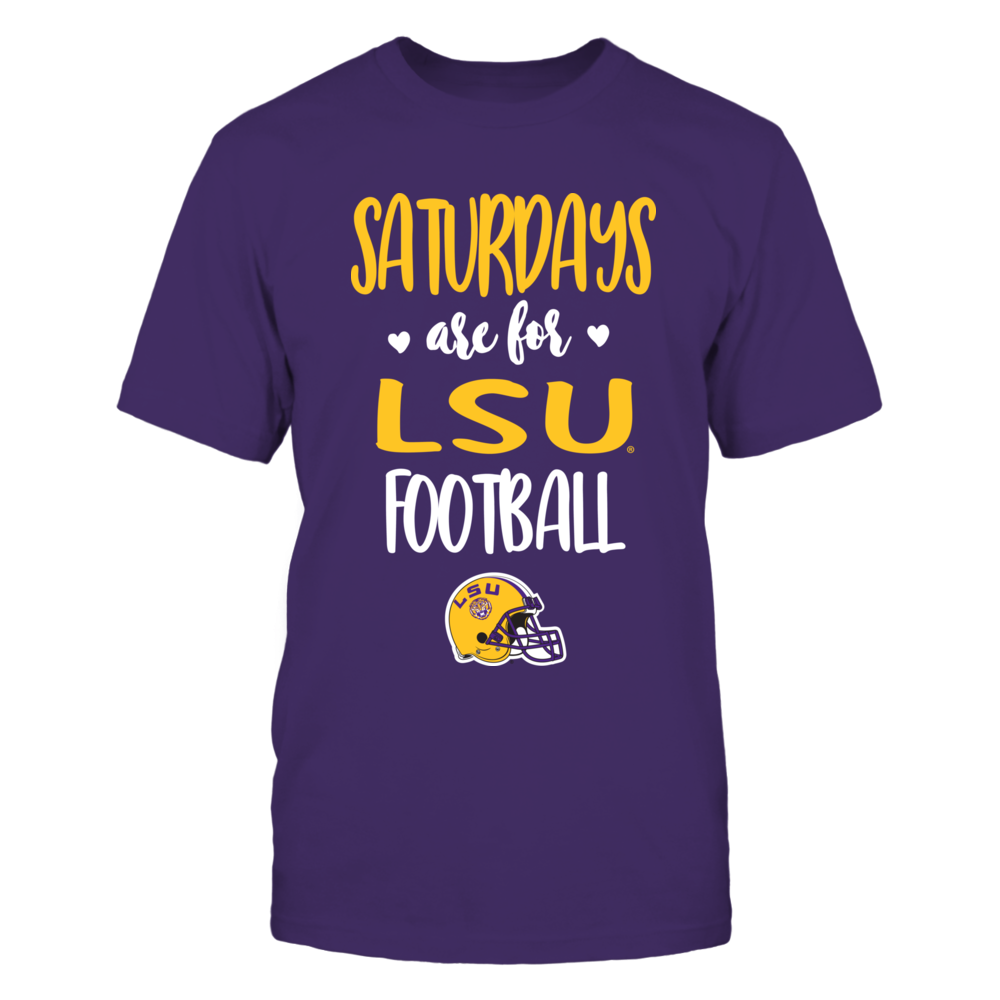 LSU Tigers - Saturdays Are For Football - IF13-IC13-DS37 Front picture