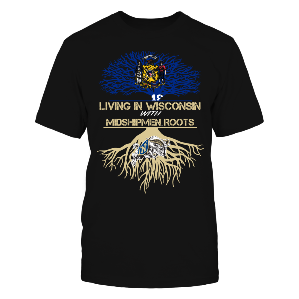 Navy Midshipmen - Living Roots Wisconsin Front picture
