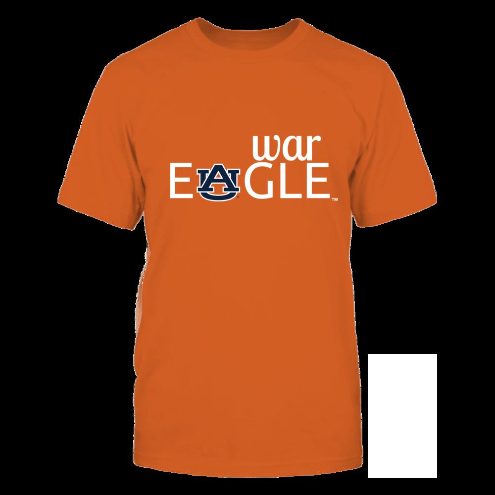 War Eagle (Orange) - Auburn Tigers Front picture