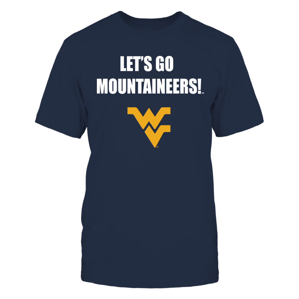 West Virginia Mountaineers - Let's Go Front picture