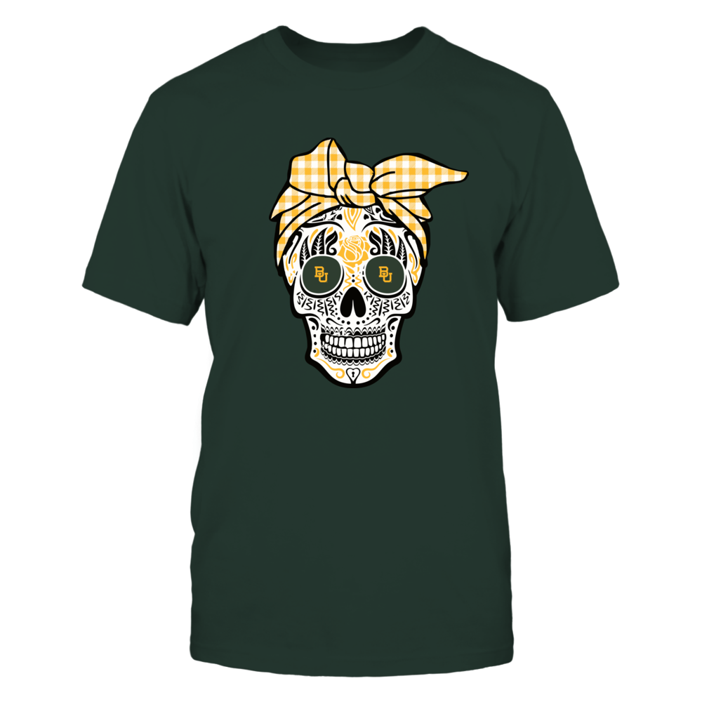 Baylor Bears - Sugar Skull - Turban Front picture