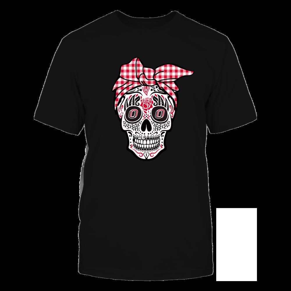 Nebraska Omaha Mavericks - Sugar Skull - Turban Front picture
