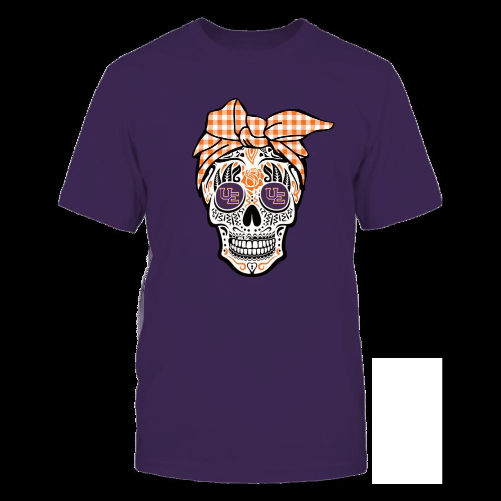 Evansville Purple Aces - Sugar Skull - Turban Front picture