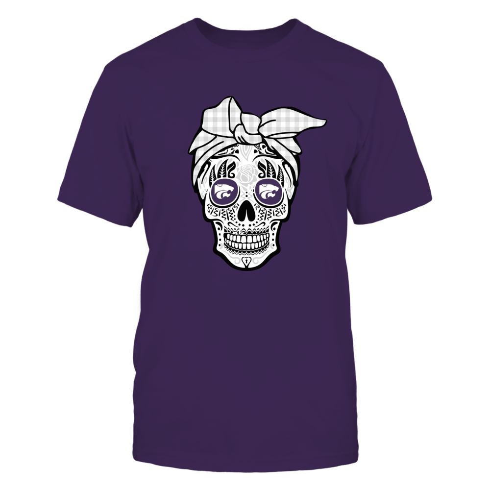 Kansas State Wildcats - Sugar Skull - Turban Front picture
