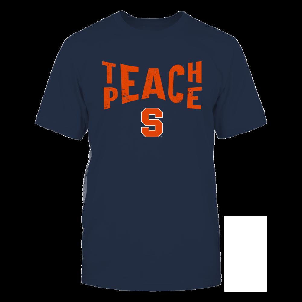 Syracuse Orange - Teach Peace - Team Front picture