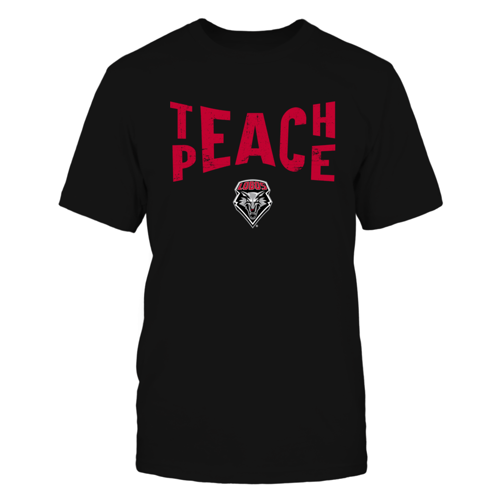 New Mexico Lobos - Teach Peace - Team Front picture