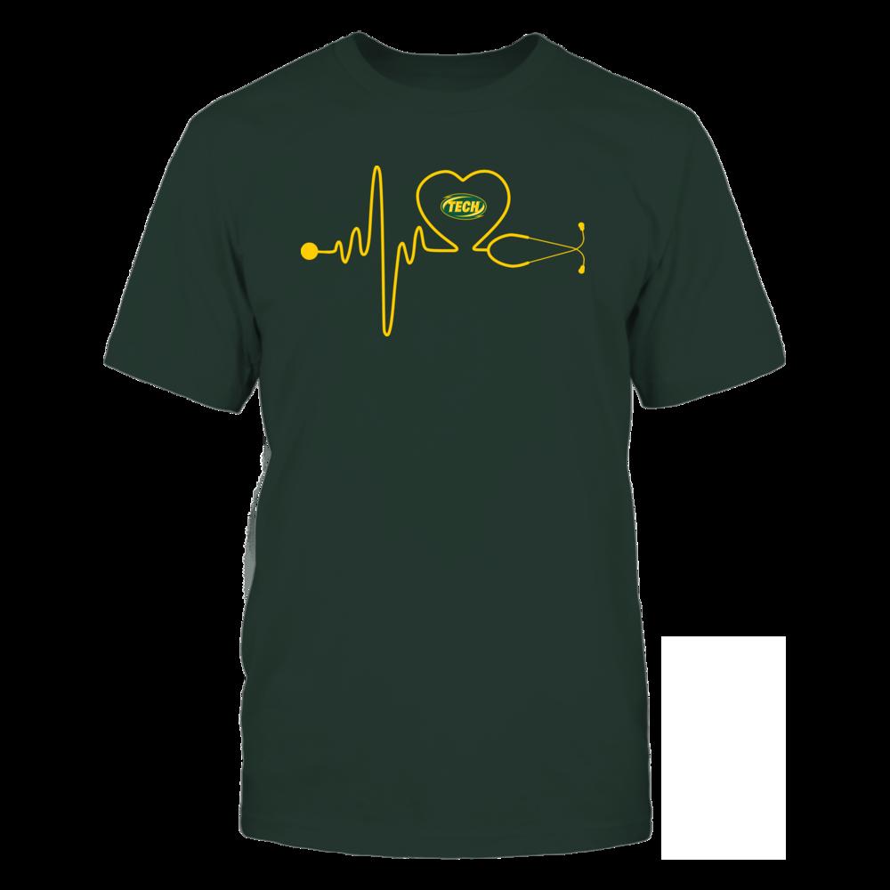 Arkansas Tech Golden Suns - Stethoscope - Heart Beat Front picture