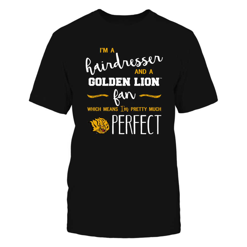 Arkansas Pine Bluff Golden Lions - Perfect Hairdresser - Team Front picture