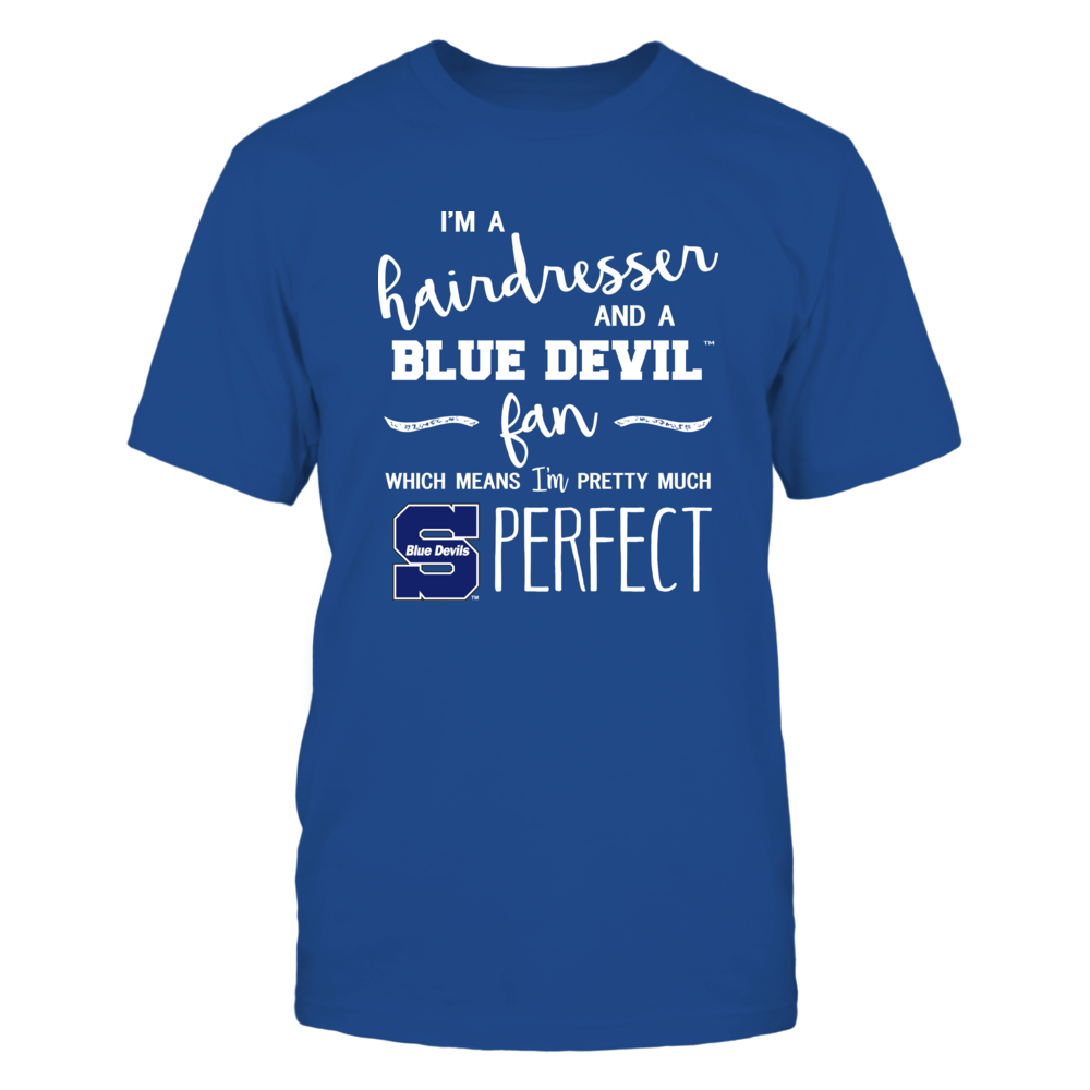 Wisconsin Stout Blue Devils - Perfect Hairdresser - Team Front picture
