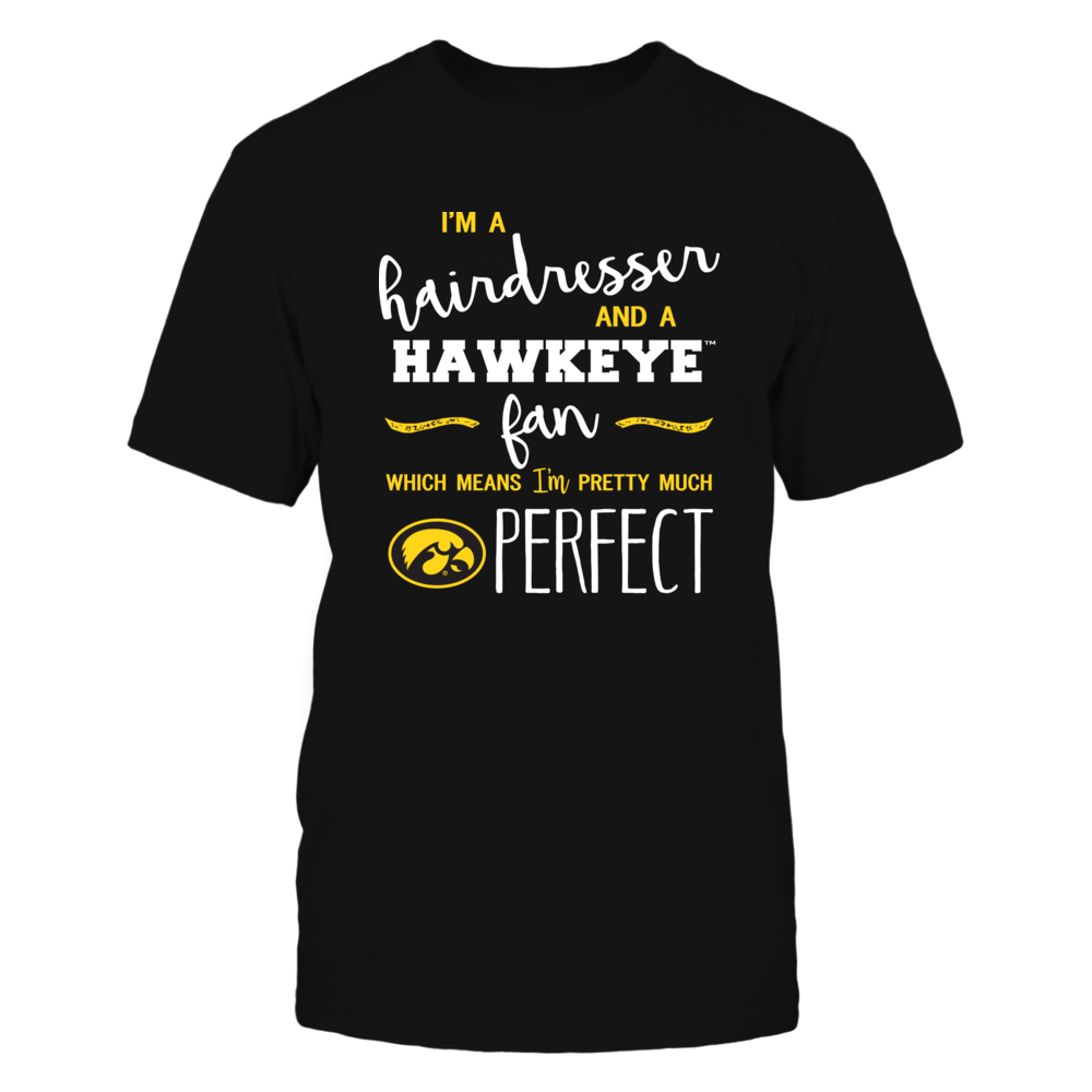 Iowa Hawkeyes - Perfect Hairdresser - Team Front picture
