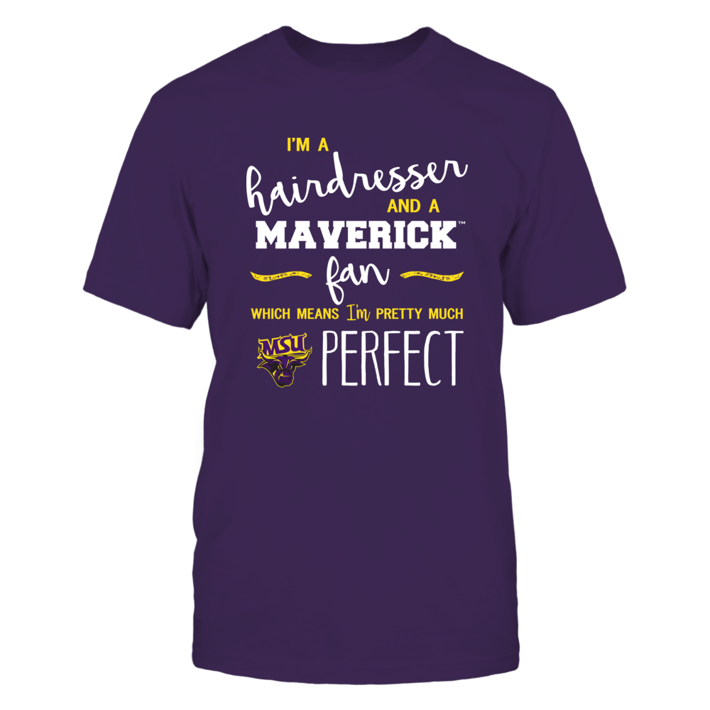 Minnesota State Mavericks - Perfect Hairdresser - Team Front picture