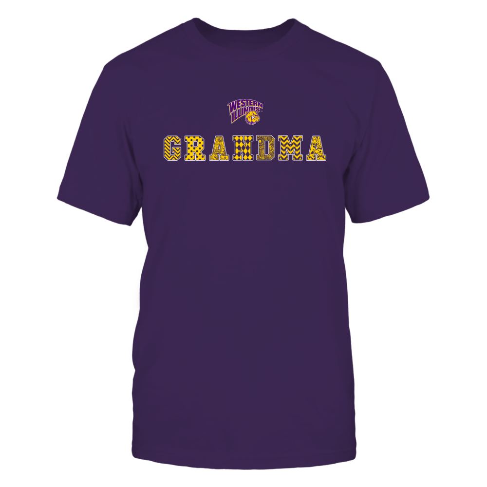 Western Illinois Leathernecks - Patterned Grandma Front picture