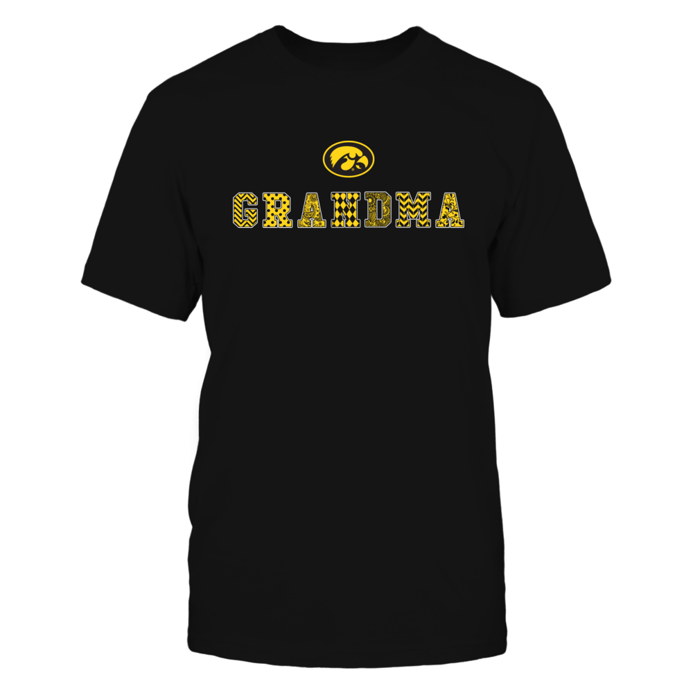 Iowa Hawkeyes - Patterned Grandma Front picture
