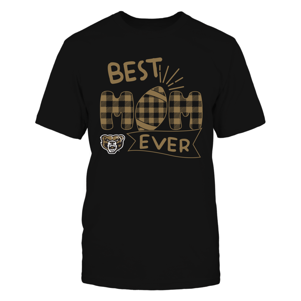 Oakland Golden Grizzlies - Best Mom Ever - Patterned Football - Team Front picture