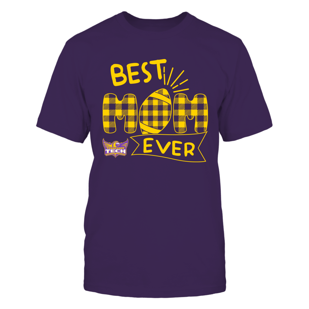 Tennessee Tech Golden Eagles - Best Mom Ever - Patterned Football - Team Front picture
