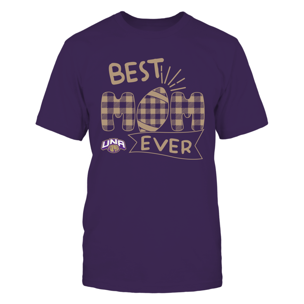 North Alabama Lions - Best Mom Ever - Patterned Football - Team Front picture