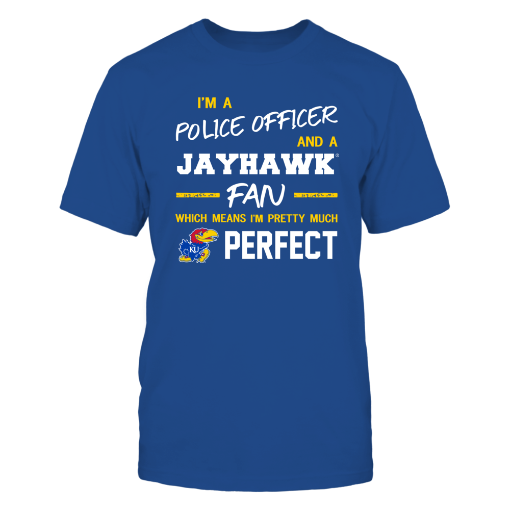 Kansas Jayhawks - Perfect Police Officer - Team Front picture