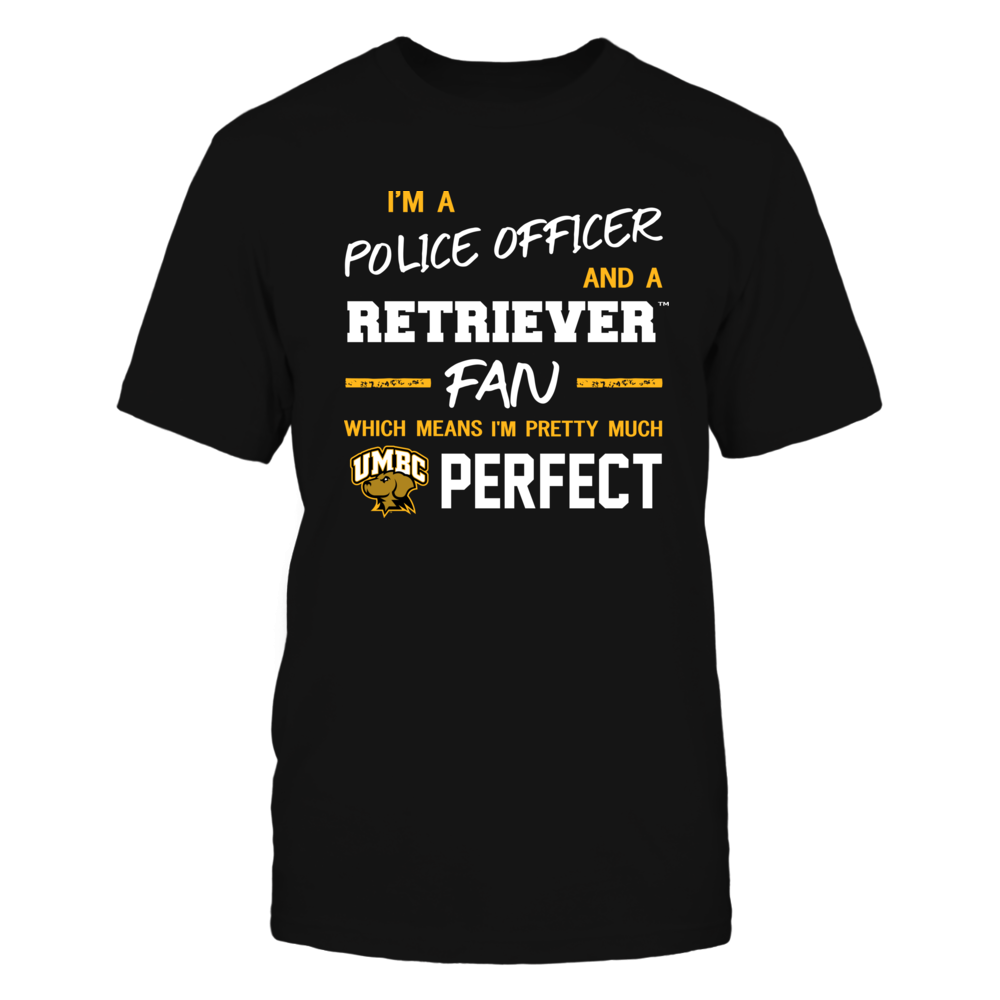 UMBC Retrievers - Perfect Police Officer - Team Front picture