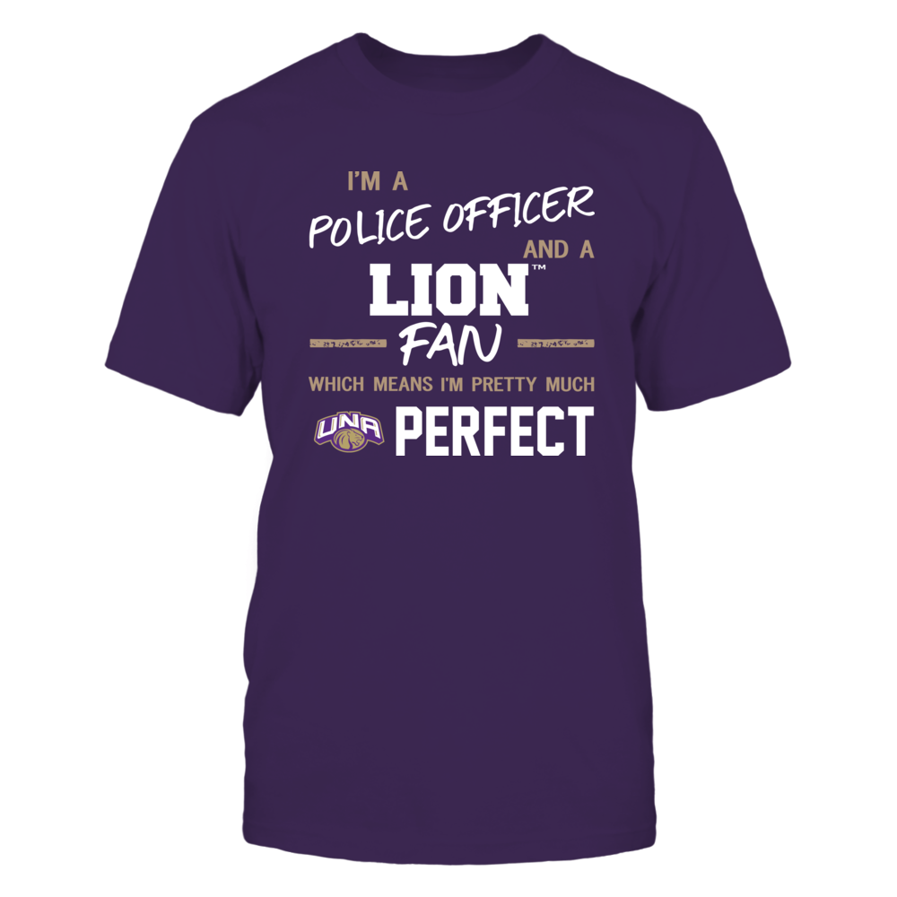 North Alabama Lions - Perfect Police Officer - Team Front picture