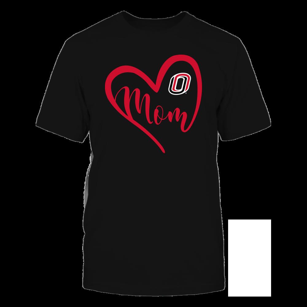Nebraska Omaha Mavericks - Heart Mom - Team Front picture