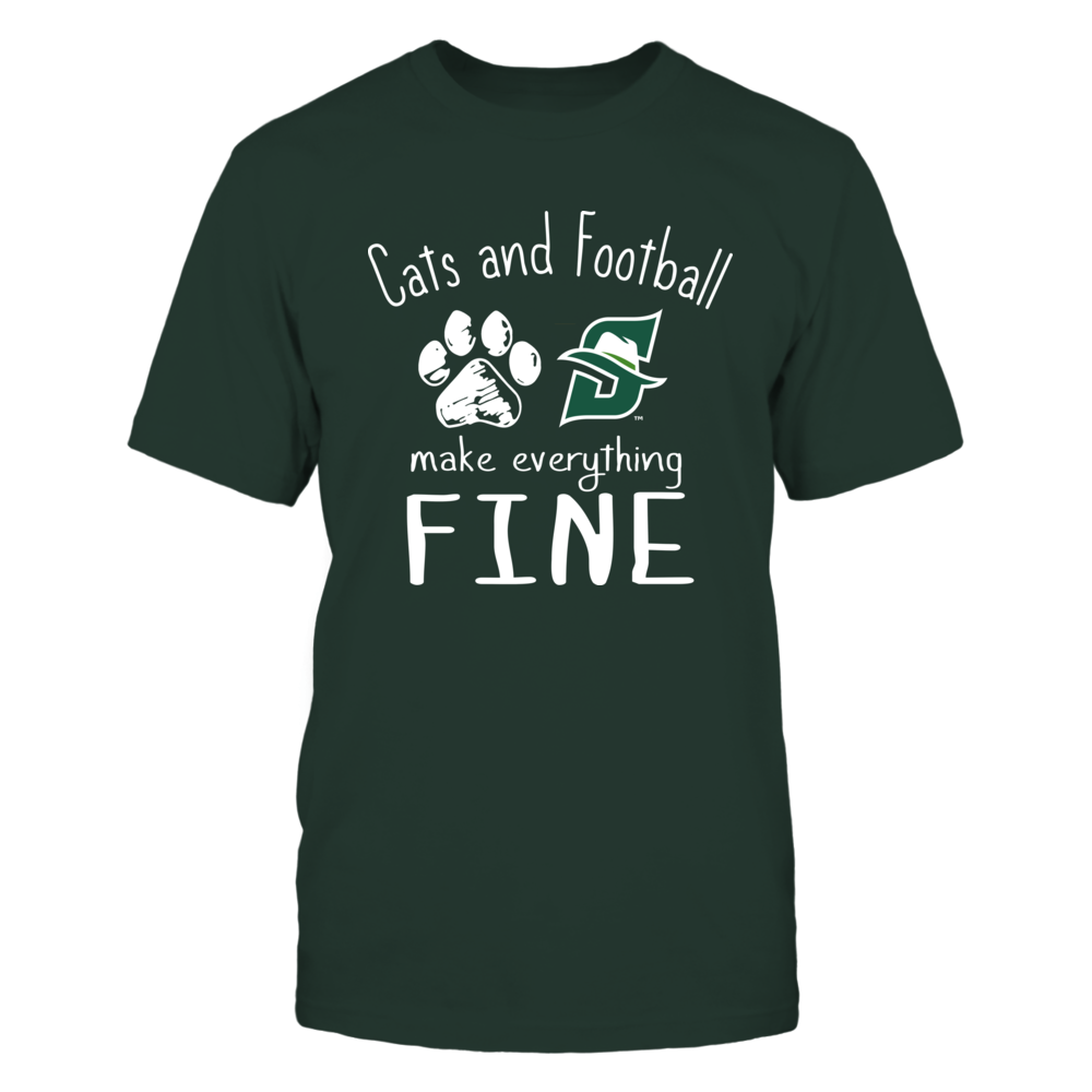 Stetson Hatters - Cats And Football Make Everything Fine Front picture