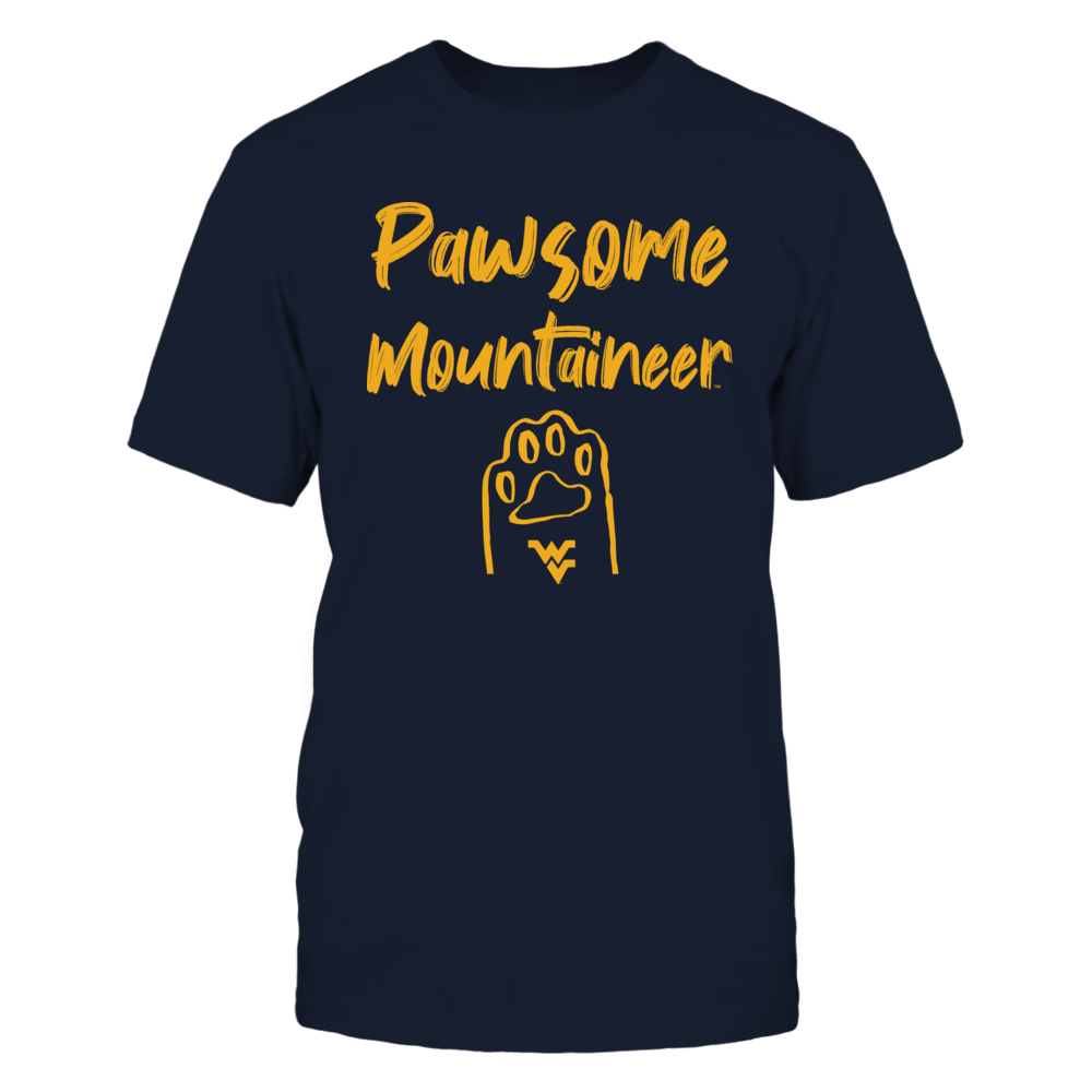 West Virginia Mountaineers - Pawsome - IF32-IC32-DS37 Front picture
