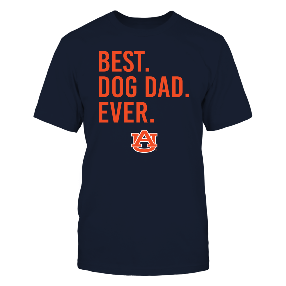 Auburn Tigers - Best Dog Papa Ever - IF32-IC32-DS45 Front picture
