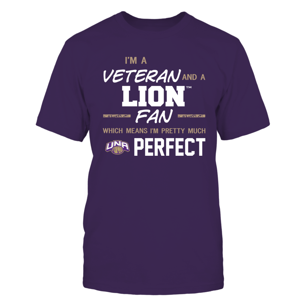 North Alabama Lions - Perfect Veteran - Team Front picture