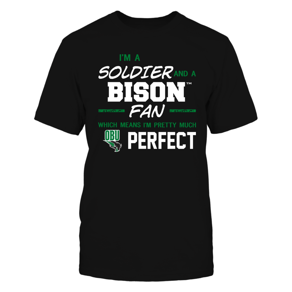 Oklahoma Baptist Bison - Perfect Solider - Team Front picture