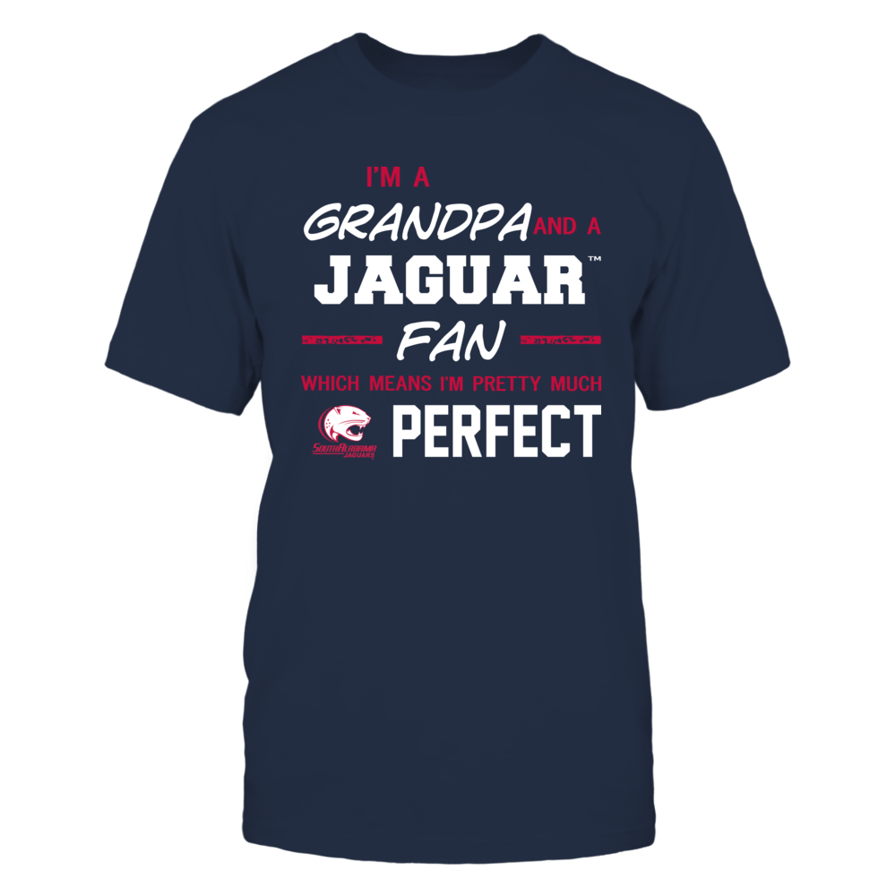 South Alabama Jaguars - Perfect Grandpa - Team Front picture