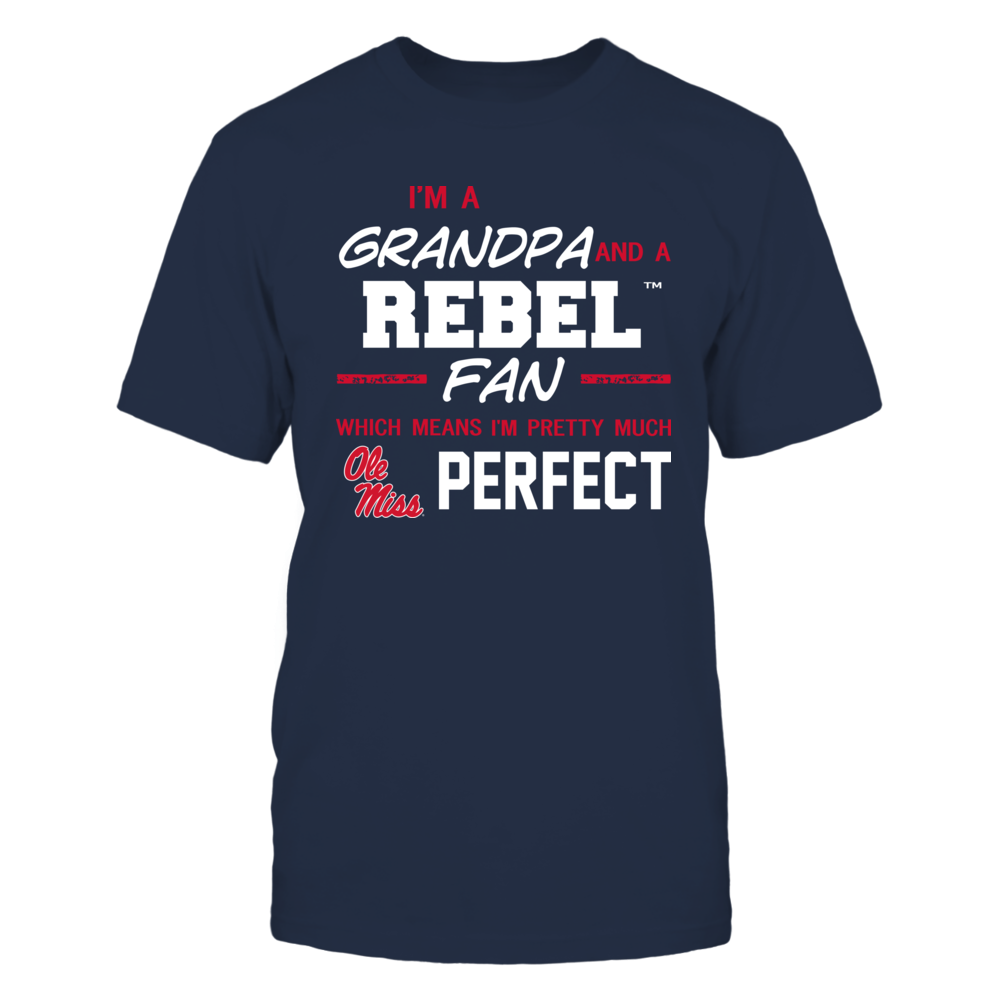 Ole Miss Rebels - Perfect Grandpa - Team Front picture