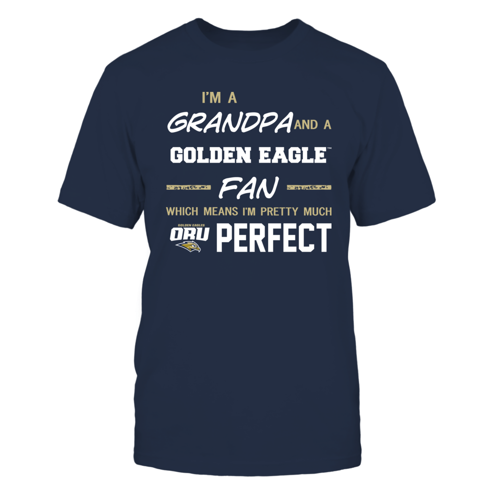 Oral Roberts Golden Eagles - Perfect Grandpa - Team Front picture