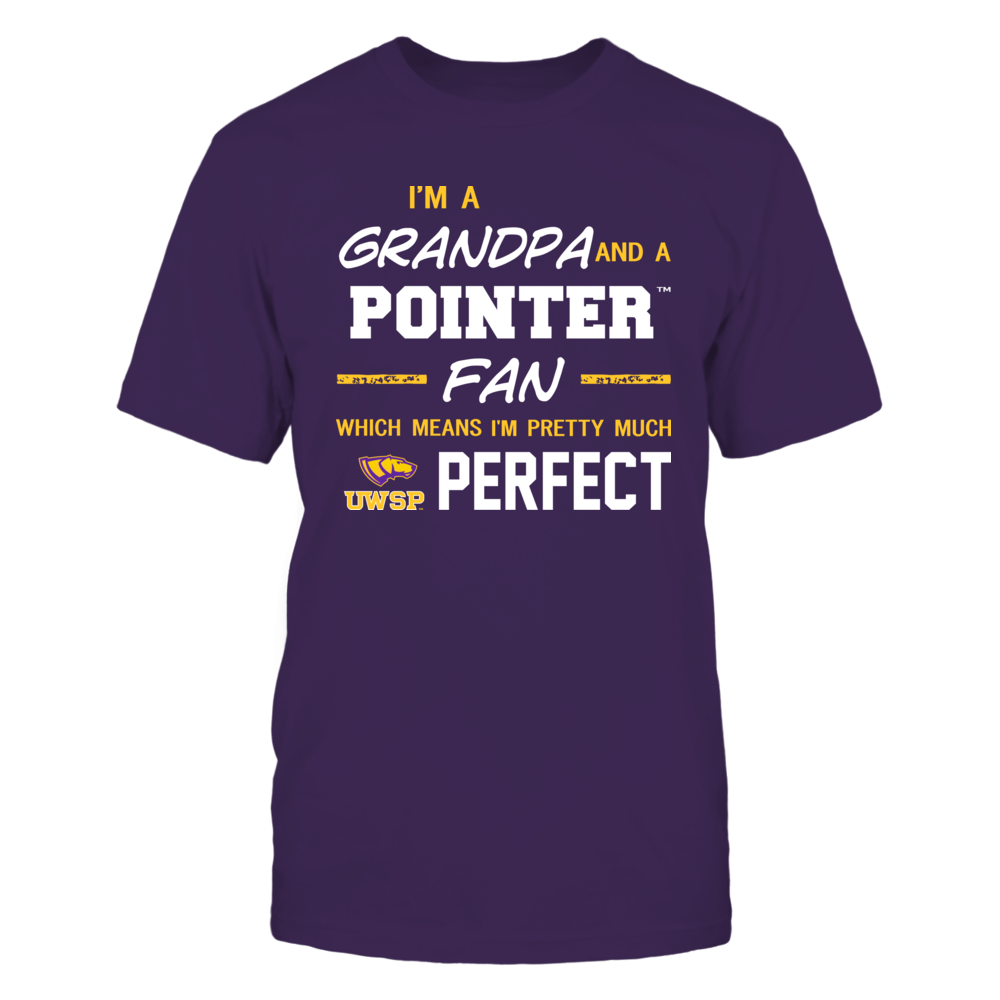 Wisconsin-Stevens Point Pointers - Perfect Grandpa - Team Front picture