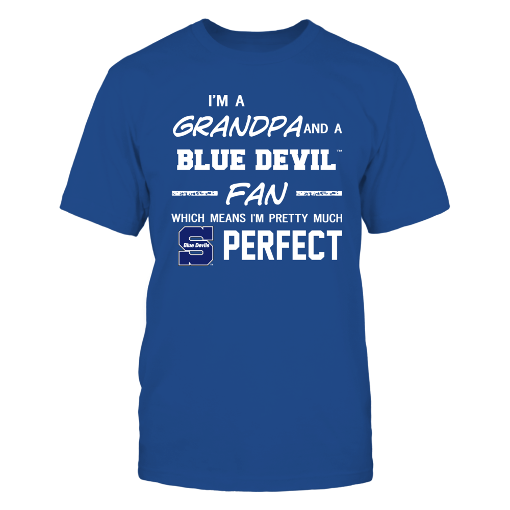Wisconsin Stout Blue Devils - Perfect Grandpa - Team Front picture