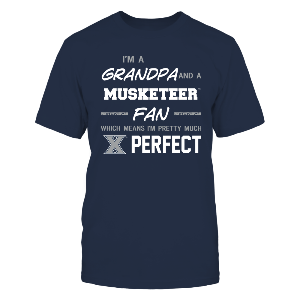 Xavier Musketeers - Perfect Grandpa - Team Front picture