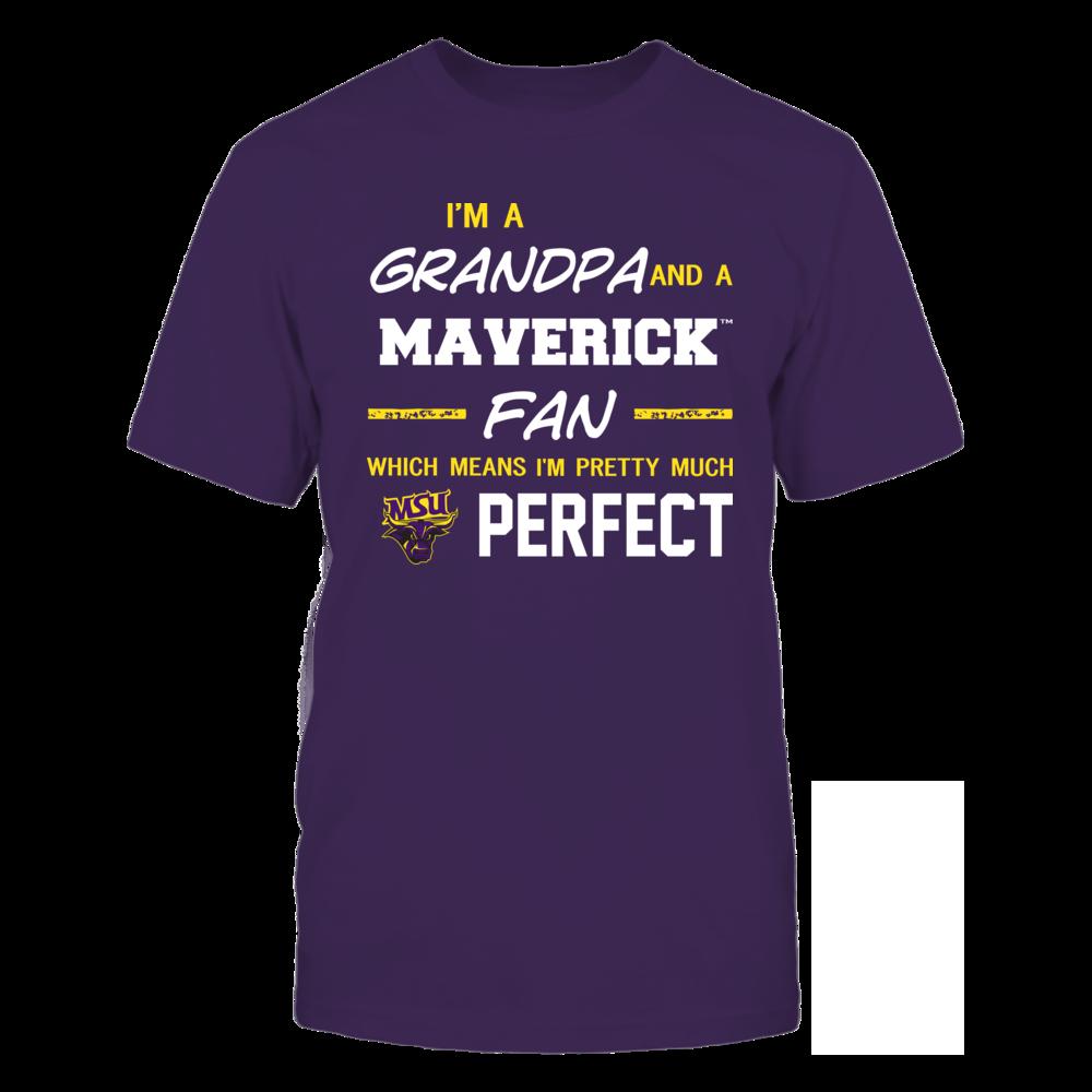 Minnesota State Mavericks - Perfect Grandpa - Team Front picture