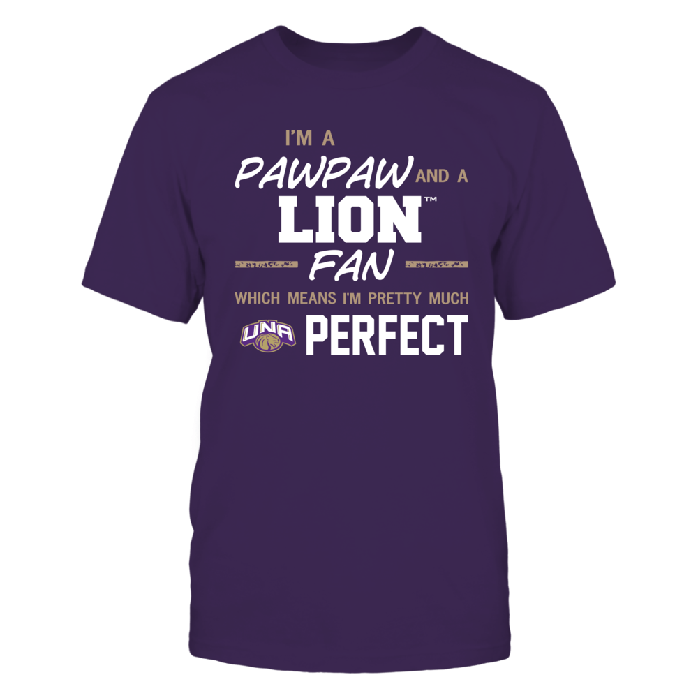 North Alabama Lions - Perfect Pawpaw - Team Front picture