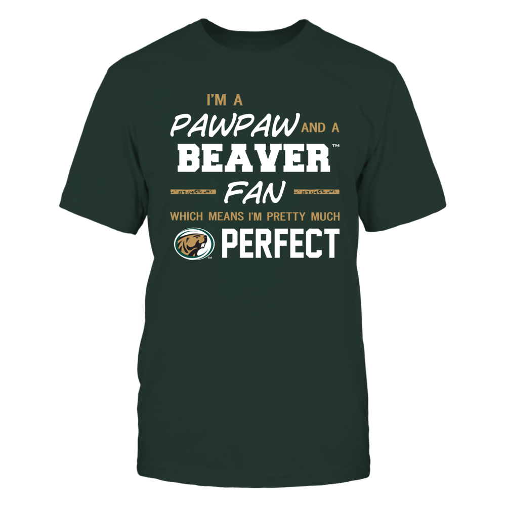 Bemidji State Beavers - Perfect Pawpaw - Team Front picture
