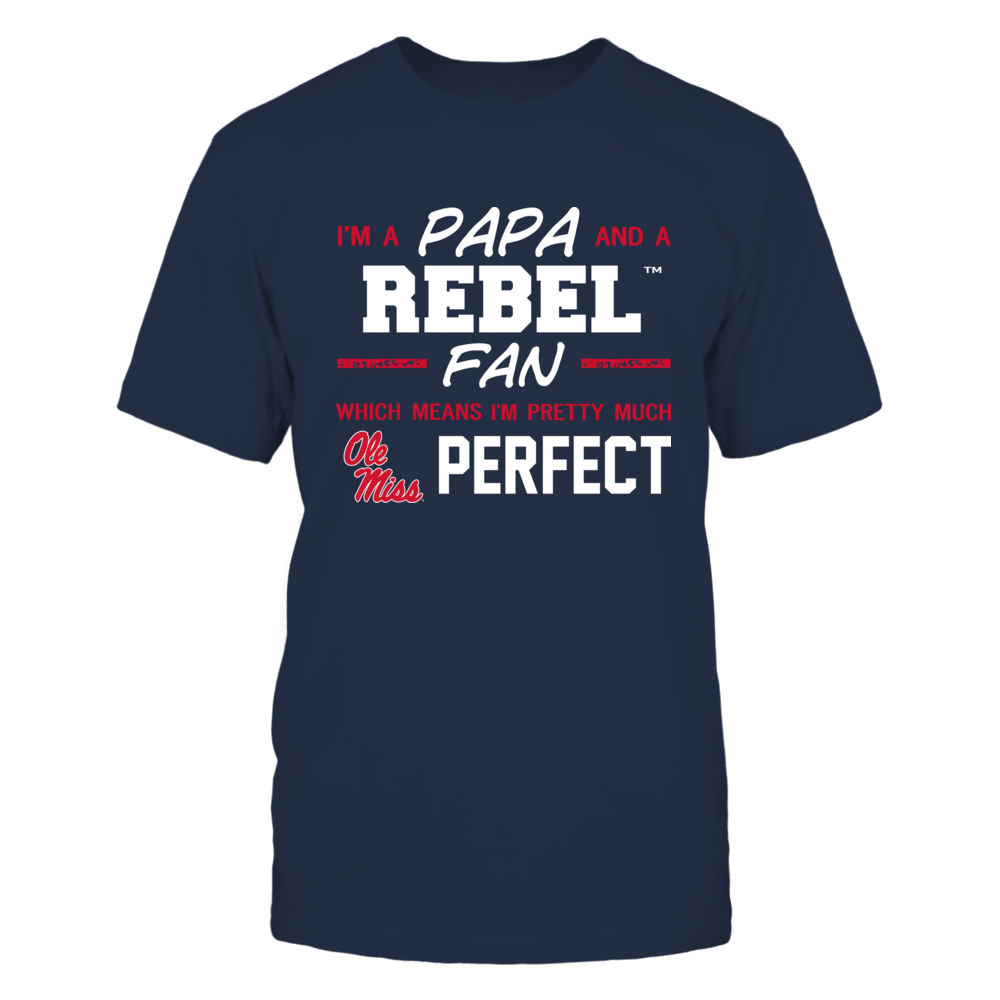 Ole Miss Rebels - Perfect Papa - Team Front picture