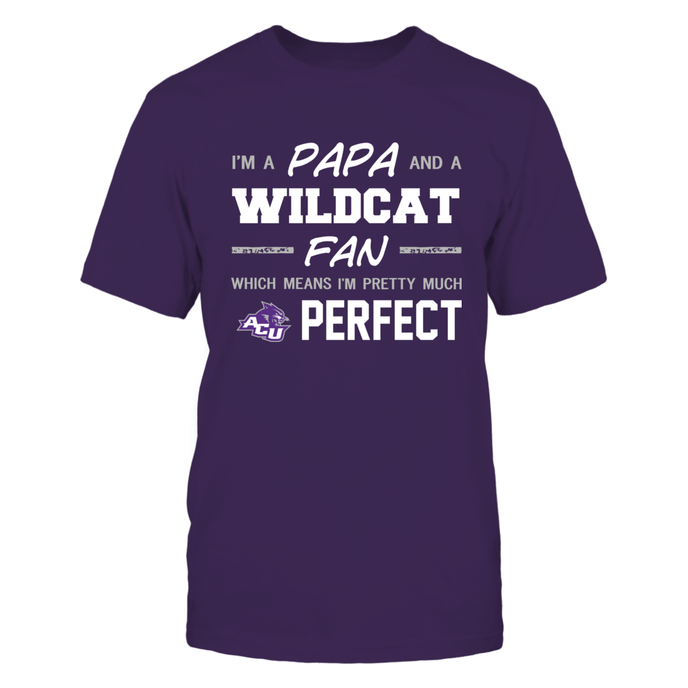 Abilene Christian Wildcats - Perfect Papa - Team Front picture